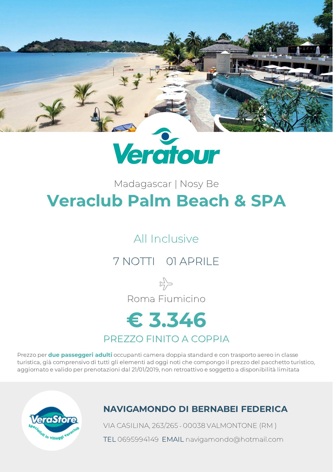 Veraclub Palm Beach & SPA